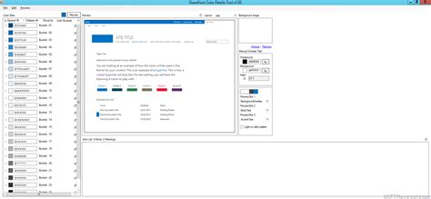 sharepoint color palette tool sharepoint color palette tool themeslots microsoft