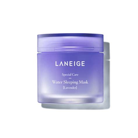 Laneige Water Sleeping Mask Lavender Mini Version 15ml laneige water bank layering 50ml aphrodite