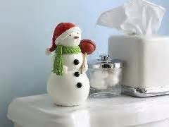 hallmark bathroom snowman general splendour heeeeee s back