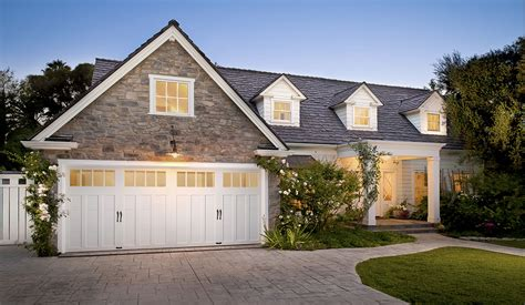 garage style homes craftsman style garage doors homesfeed