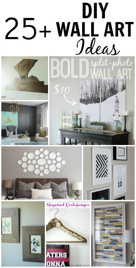 25 beautiful and inspiring diy wall ideas