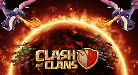 wallpaper keren coc hd clash of clans wallpapers weneedfun