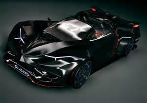 Supercar Lamborghini Lamborghini Diverso Hybrid Is Similar To Batman Car