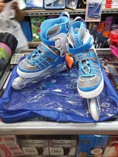 Inline Skate Merah M jual sepatu roda karet banwei inline skate harga murah m l