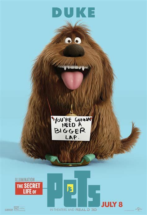 secret life  pets posters reveal   collider