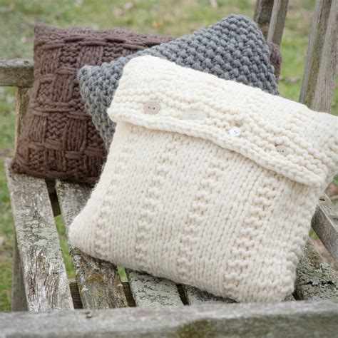 Pillow Willow by Willow Trio Of Pillows In Big Montana Tahki Charles
