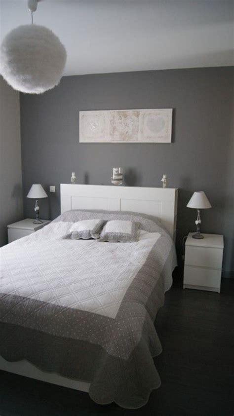 Chambre Gris by Deco Chambre Adulte Gris Et Blanc