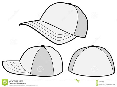 best photos of hat template vector snapback hat design
