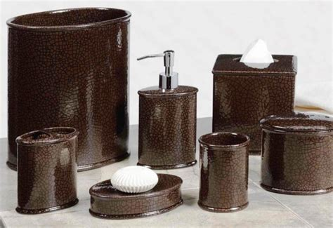 brown bathroom accessories sets 10 creative brown bathroom sets rilane