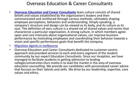 overseas education study abroad consultants ppt study in canada study abroad overseas education
