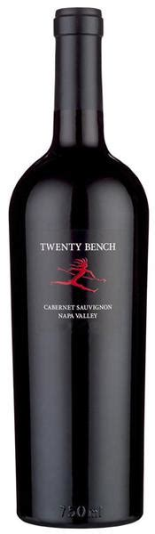 2015 twenty bench cabernet sauvignon napa valley usa
