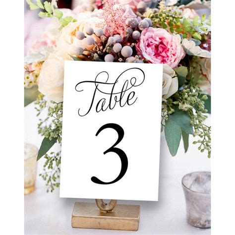 table numbers for wedding reception fancy table numbers 1 30 wedding table number printable
