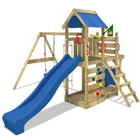 t frame swing set wickey seaflyer climbing frame outdoor wood swing set
