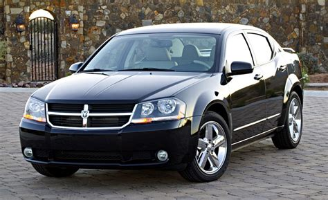 dodge 2008 avenger car and driver
