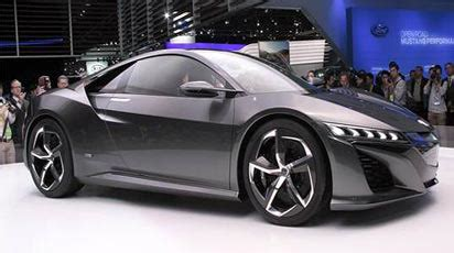 who is the maker of acura acura s nsx supercar set for production vanguard news