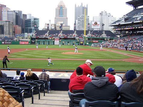 section 107 pnc park all around pnc park new and improved