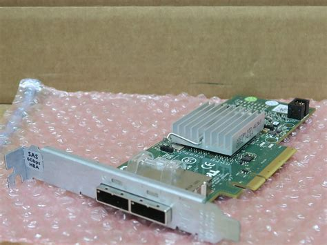 Sas Work From Home by Dell Perc H200e 12dnw Pcie Hba 6gbps Sas Dual Port
