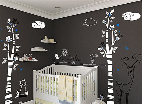 wall decals for baby boy room nursery wall decals with modern flair