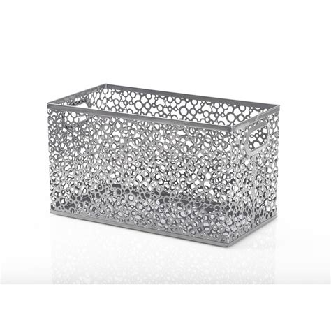 Wilko Metal Home Wire Decor Small At Wilko Wilko Small Mesh Metal Storage Box Deal At Wilko Offer