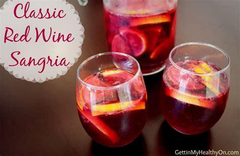 raspberry sangria recipe with red wine