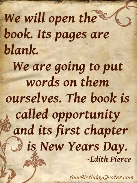 art quotes we will open the book a new years quote in