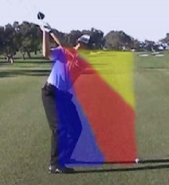shoulder plane golf swing downswing