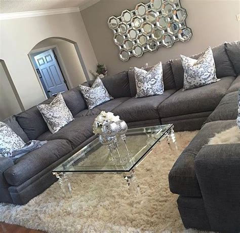 decorating living room with grey sofa best 25 big ideas on black sofa living room black decor and living