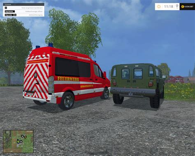 H1 Ls by Ls 15 Der Hummer H1 Mit Blau Rotlicht V 1 0 Ohne