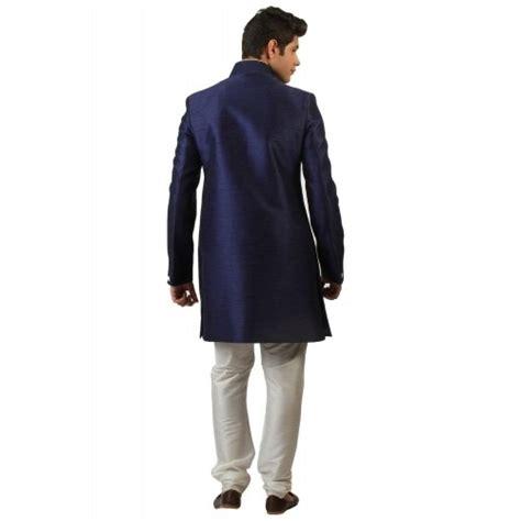 Amora Navy buy amora designer navy blue indo western sherwani looksgud in
