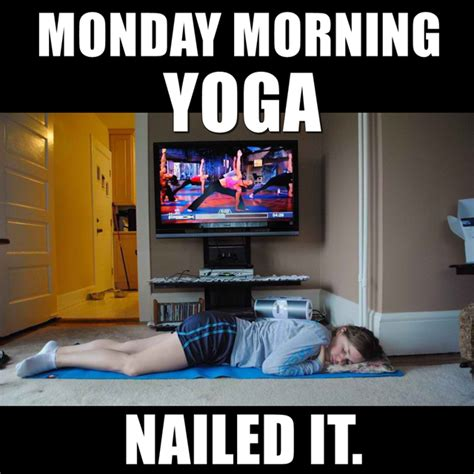 Monday Morning Meme - monday morning yoga memes comics pinterest morning