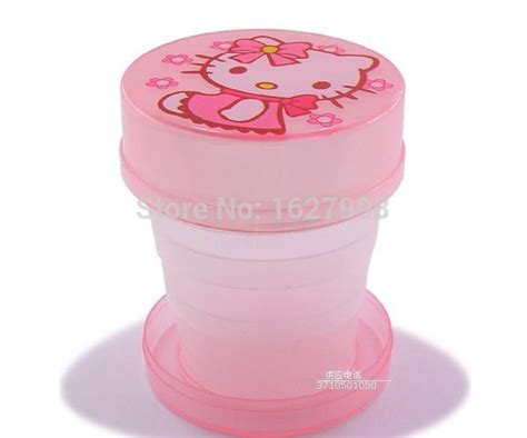 Mini Cup Cook Kartoon retractable cup mug hello 100ml mini cup for school travelling in mugs from