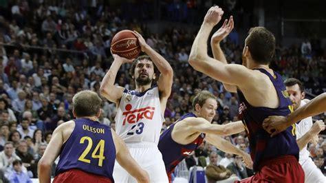 imagenes emotivas de basquet real madrid barcelona de baloncesto resultado del