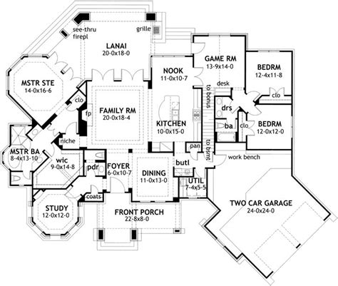 house plans with game room 112 best house plans under 3000sq ft images on