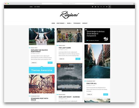 best blog design 40 best personal blog wordpress themes 2018 colorlib