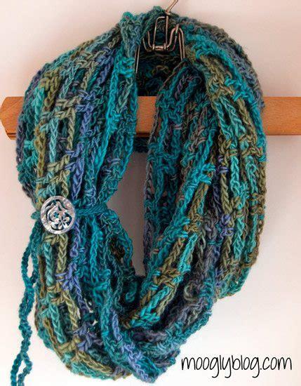pinterest pattern for infinity scarf 10 exles of crochet scarves from pinterest crochet