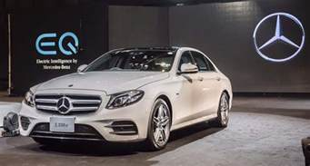 Mercedes Thailand Mercedes E350e In Hybrid Launched In Thailand