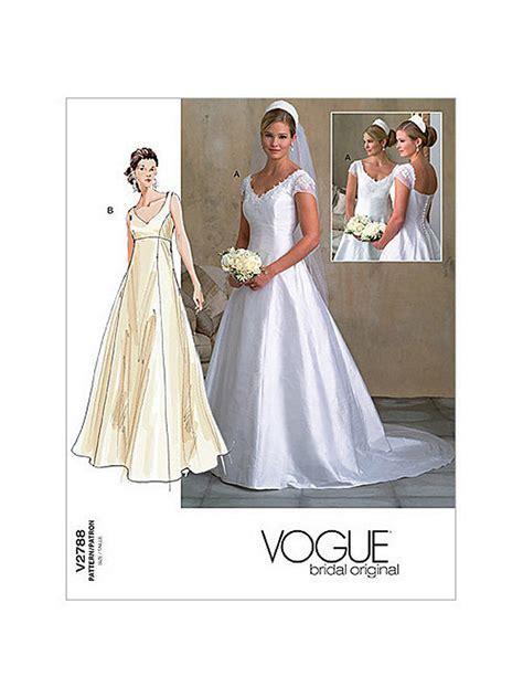 Vogue Women's Bridal Gown Sewing Pattern, 2788 at John