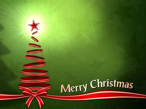merry christmas  tree ribbons backgrounds  powerpoint christmas  templates