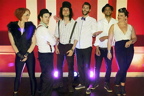 electric swing band dynamic six piece uk band the electric swing circus are