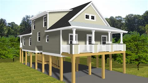florida beach house plans beach house plans with porches pilings lrg elevated