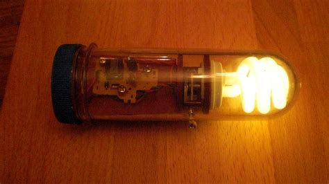 what capacitors are used in disposable cameras emergency cfl light gets a steunk makeover make