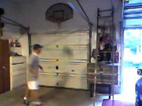 Basketball Bedroom Ideas my indoor basketball hoop in my garage youtube