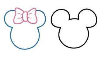 mickey ears silhouette cliparts co