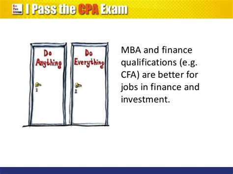 Getting A Cpa After Mba by Cpa Qualification Vs Mba Degree Which Is Better
