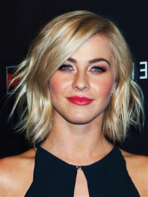 julianne hough shoulder length bob haircut for straight medium length bob hairstyles your beauty 411