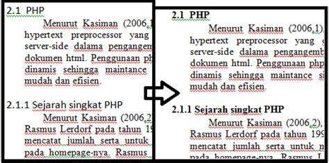 cara membuat format daftar isi secara otomatis cara membuat daftar isi secara otomatis di microsoft word