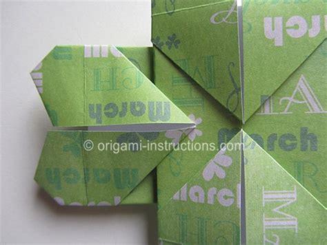 tutorial origami quadrifoglio tutorial origami quadrifoglio