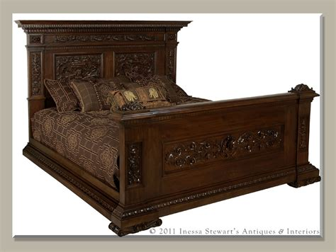 antique bed antique beds bedrooms historical origins antiques in style