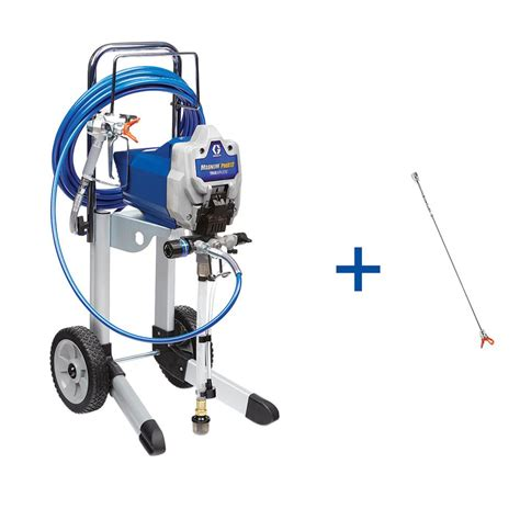 home depot wagner paint sprayer parts graco truecoat plus ii airless paint sprayer 16n659 the