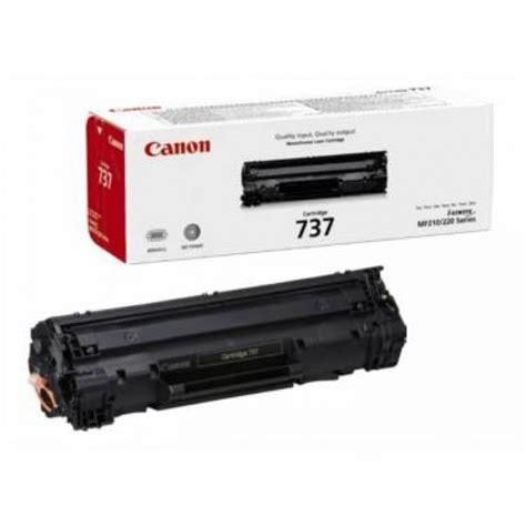 Toner Canon canon 737 black toner original